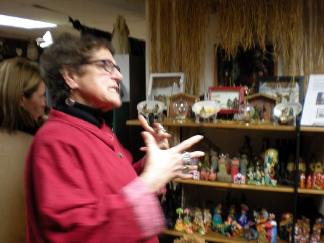 Shop owner Joan Ritchie