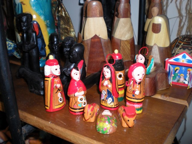 A few of the many nativities