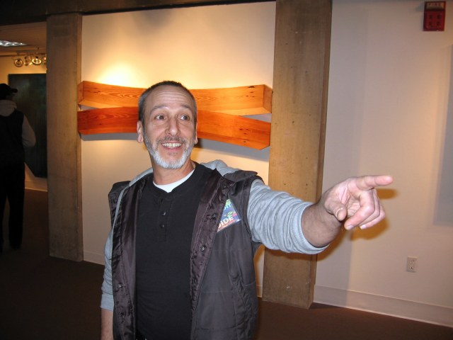 You're in good hands with Gallery Night Guide Russell Ricci