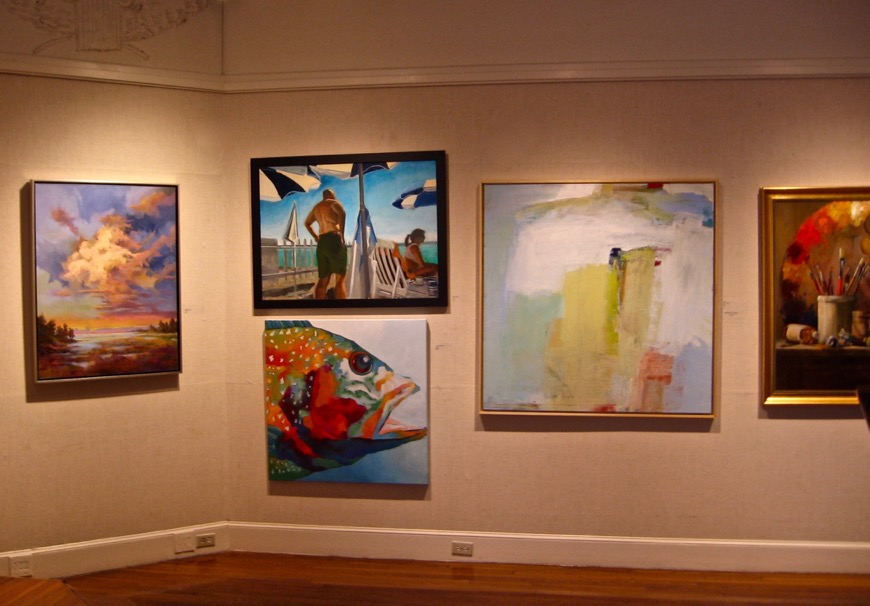 Gallery Night Providence, The Galleries at The Providence Art Club