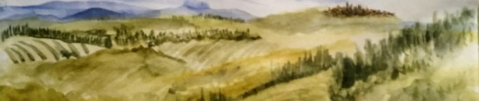 Patricia Almonte exhibits watercolors from arecent trip to Italy at the BankRI Pitman Street branch March 1 through April 5, 2017.