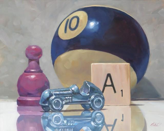 Rick Shiers exhibits oil paintings at the BankRI Pitman Street Gallery May 4 through May 31st, 2017.