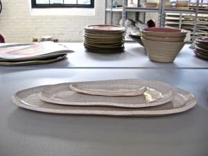 Ceramic creations atGallery Night Providence stop J Schatz Studio