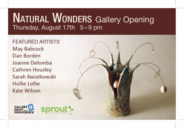 August 2017 Gallery Night Providence at Sprout