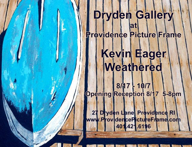 Kevin Eager at Dryden Gallery on Gallery Night Providence