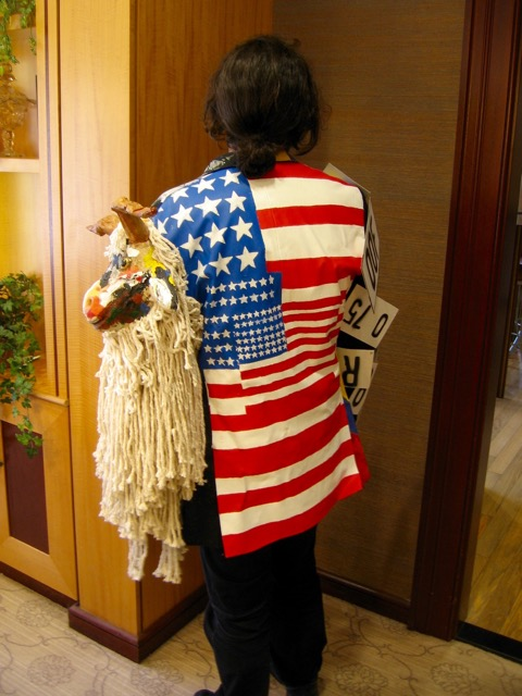 Johns-Rauschenberg Inspired Jacket By Ted DeLucia For Gallery Night Providence